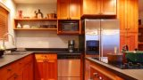 מטבח איכותי דגם עץ אגוז